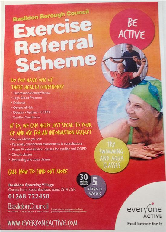 Essex Referral Scheme - Everyone Active